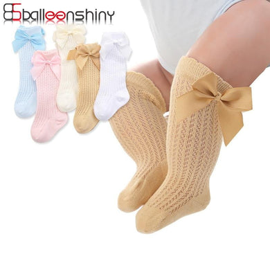 200001853,BalleenShiny Baby Girl Socks Toddler Baby Bow Cotton Mesh Breathable Socks Newborn Infant Non-slip Baby Girls Socks 0-3 years,guiro,Cosmiz.