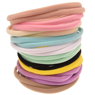 200003831,Nishine 10pcs/lot Nylon Headband for Baby Girl DIY Hair Accessories Elastic Head Band Kids Children Fashion Headwear baby turban,guiro,Cosmiz.