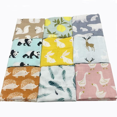 200002037,New Cotton Baby Blankets Newborn Soft Organic Cotton Baby Blanket Muslin Swaddle Wrap Feeding Burp Cloth Towel Scarf Baby Stuff,guiro,Cosmiz.