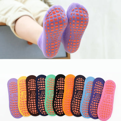 200001853,Autumn Winter Spring Summer Breathable Non-slip Floor Socks Boy Girl Socks Home Baby Kids Socks Cotton Candy Color Ankle Socks,guiro,Cosmiz.