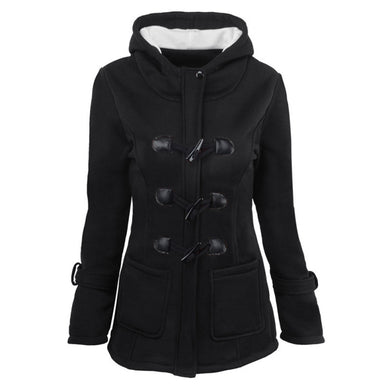 Horn Buckle Coat Female