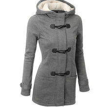 Load image into Gallery viewer, ,Horn Buckle Coat Female,guiro,Unbranded.