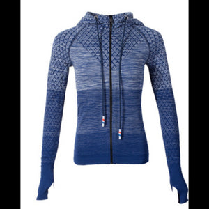 ,Sports Hoodie Slim Zip Yoga Sports Jacket Female Jacket Professional Outdoor Running Fitness,guiro,Unbranded.