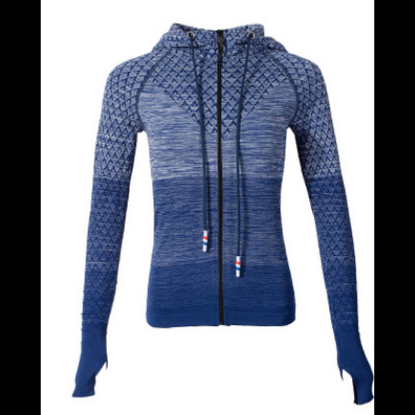 Sports Hoodie Slim Zip Yoga Sports Jacket Female Jacket Professional Outdoor Running Fitness