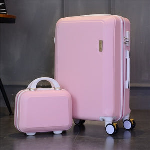 - High Quality Cute Princess Series Handbag and Rolling Luggage Spinner Travel Suitcase - guiro - Zeinab Fashion