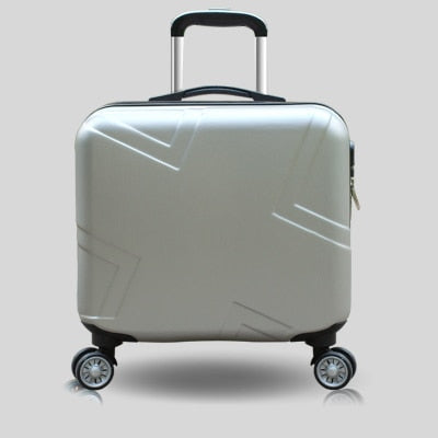 "- Travel suitcase set Rolling Luggage set Spinner trolley case 18"" boarding wheel Woman Cosmetic case carry-on luggage travel bags - guiro - Zeinab Fashion"