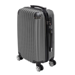- Waterproof Spinner Luggage 20 Inch Gray Travel Business Large Capacity Suitcase Bag Rolling Wheels Luggage - guiro - Zeinab Fashion
