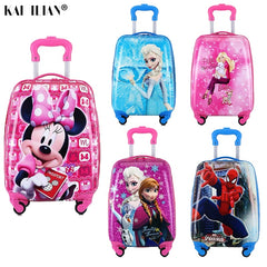 - Kids Suitcase Children Travel Trolley Suitcase wheeled suitcase for kids Rolling luggage suitcase Child Travel Luggage bags case - guiro - Zeinab Fashion