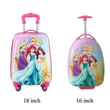 Load image into Gallery viewer, ,Kids Suitcase Children Travel Trolley Suitcase wheeled suitcase for kids Rolling luggage suitcase Child Travel Luggage bags case,guiro,Zeinab Fashion.
