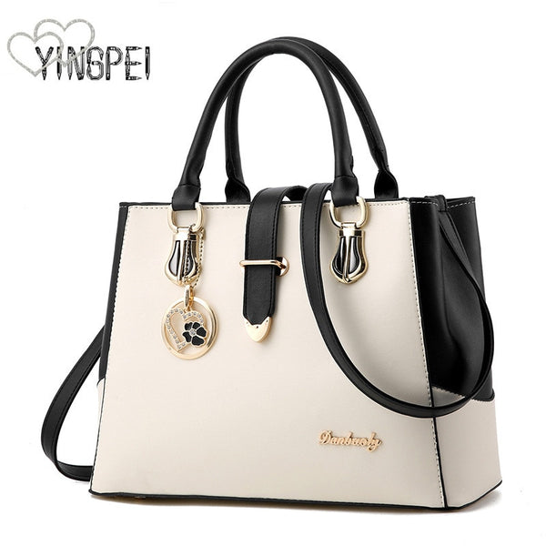 - women bag Fashion Casual women's handbags Luxury handbag Designer Shoulder bags new bags for women 2019 bolsos mujer withe - guiro - Zeinab Fashion