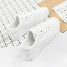 Load image into Gallery viewer, ,2019 Fashion White Sneakers Women Flats Canvas Shoes Women Vulcanize Shoes Summer Casual Zapatillas Mujer European Size 36-42,guiro,Zeinab Fashion.