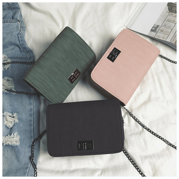 - Shoulder Bag luxury handbags women bags designer Version  Wild Girls Small Square Messenger Bag bolsa feminina - guiro - Zeinab Fashion