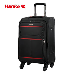 - Hanke Soft Cloth Suitcase Waterproof Expandable Luggage Trolley Case Spinner Wheels Rolling Luggage for Travel 20-28 Inch H8662 - guiro - Zeinab Fashion