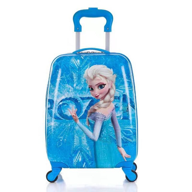 - Children's Suitcase Child Trolley case Luggage kids Schoolbags 18