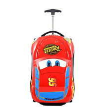 Load image into Gallery viewer,  - 3D Kids Suitcase Car Travel Luggage Children Travel Trolley Suitcase for boys wheeled suitcase for kids Rolling luggage suitcase - guiro - Zeinab Fashion