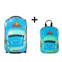 Load image into Gallery viewer, ,3D Kids Suitcase Car Travel Luggage Children Travel Trolley Suitcase for boys wheeled suitcase for kids Rolling luggage suitcase,guiro,Zeinab Fashion.