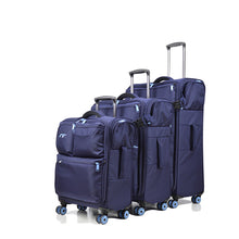 Load image into Gallery viewer, ,Oxford Trolley case,Travel suitcase,20-inch for male and female Boarding box,Password Luggage, Zipper Universal wheel valise,guiro,Zeinab Fashion.