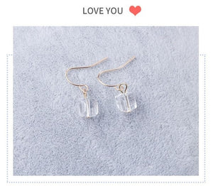 ,2017 New Hollow Geometry Earrings Heart Sweet Gold Love Earrings Women Gifts Jewelry Orecchini Brincos Pendientes Oorbellen,guiro,Guiro.