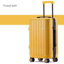 Load image into Gallery viewer,  - Travel Belt high quality Retro 100% aluminum frame Rolling Luggage Spinner brand Travel Bags Men Women Password Suitcase Wheels - guiro - Zeinab Fashion