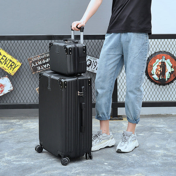 "- Luxury Suitcase Set Men Women 's Travel Luggage Waterproof Box Wheel Suitcase 20""26"" Inch Rolling Trolley Case Travel Bags - guiro - Zeinab Fashion"