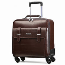Load image into Gallery viewer,  - Commercial suitcase trolley luggage male female universal wheels16 20 24luggage travel bag,high quality pvc trolley luggage - guiro - Zeinab Fashion