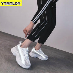 - Women Sneakers 2019 Fashion Casual Shoes Woman Comfortable Breathable White Flats Female Platform Chaussure Femme Reflective - guiro - Zeinab Fashion