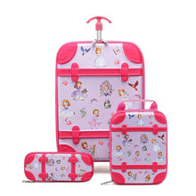 Load image into Gallery viewer,  - RTYCDG Kids Luggage Rolling Suitcase Variety Cartoon Boy Girl Travel 18inches Students ABS+PC Trolley Case Cute Children Gift - guiro - Zeinab Fashion