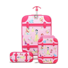 - RTYCDG Kids Luggage Rolling Suitcase Variety Cartoon Boy Girl Travel 18inches Students ABS+PC Trolley Case Cute Children Gift - guiro - Zeinab Fashion