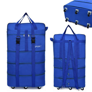 ,Air Inspection Bag Large Capacity Abroad Luggage Study Travel Universal Wheel Foldable Luggage Mobile Suitcase Rolling Backpack,guiro,Zeinab Fashion.
