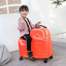 Load image into Gallery viewer,  - New Children Rolling Luggage Spinner 20 inch Wheels Suitcase Kids Cabin Trolley Student Travel Bag Cute Baby Carry On Trunk - guiro - Zeinab Fashion