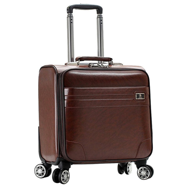 - Rolling Luggage Suitcase Boarding Case Travel Luggage Spinner Cases Trolley Suitcase Wheeled Case - guiro - Zeinab Fashion