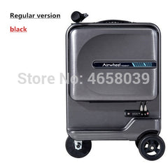 - New Electric Riding Suitcase Bag Intelligent Rolling Travel Luggage Box Rideable trolley Case only 7.5 kg scooter Cabin Carry on - guiro - Zeinab Fashion