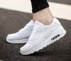 - New Designer Korean White Platform Sneakers Casual Shoes Women 2019 Fashion SpringTenis Feminino Woman Footwear Basket Femme - guiro - Zeinab Fashion