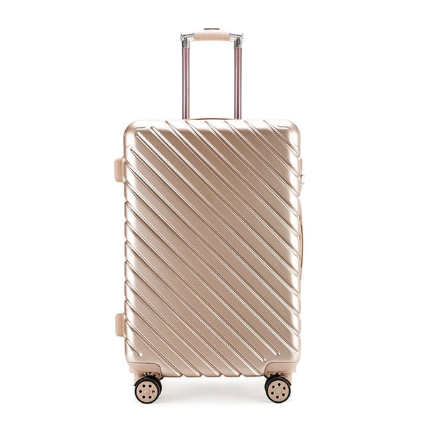 - High-quality Business Campus Unisex Trolley Case PC Material Anti-pressure Collision Universal Wheel Luggage Suitcase - guiro - Zeinab Fashion