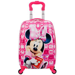 - Cute Cartoon Mickey Child Rolling Luggage children travel suitcase on wheel trolley luggage Wheels Girls School backpack bag - guiro - Zeinab Fashion
