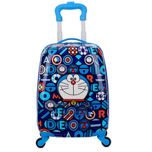 Load image into Gallery viewer,  - trolley suitcase with wheels child rolling luggage kid travel cabin suitcase cartoon Boys Girls School backpack bag - guiro - Zeinab Fashion