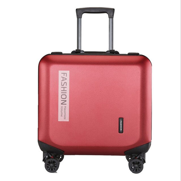 - 7 color 18 inches rolling carry on luggage set luxury mini cabin suitcase with wheels travel luggage bag Trolley case - guiro - Zeinab Fashion