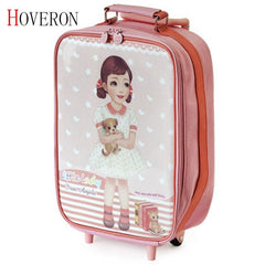 - Kids Suitcase for Travel Luggage Suitcase for Girls Children Rolling Travel Luggage Bags School Backpack with Wheels Wheeled Bag - guiro - Zeinab Fashion
