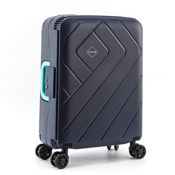 "- Luggage PP new style Simple luggage 20"" 24"" 28"" inch trolley suitcase travel bag luggage bag Rolling luggage with spinner wheel - guiro - Zeinab Fashion"