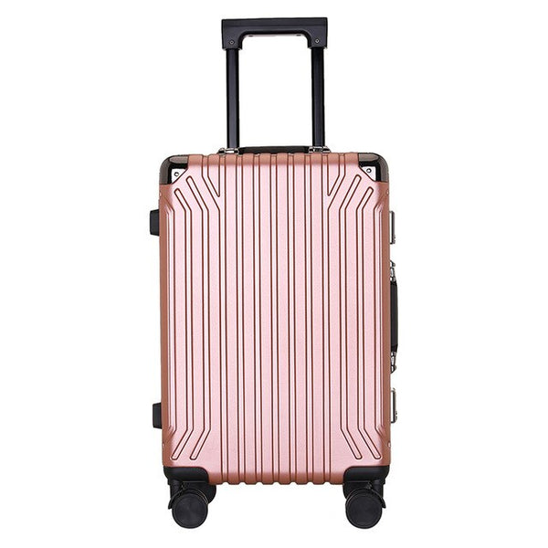- 2019 New Ultralight Luggage Customs Lock Anti-theft Suitcase Wheel 360 Degree Rotating Suitcase Frosted Waterproof Zipper Box - guiro - Zeinab Fashion