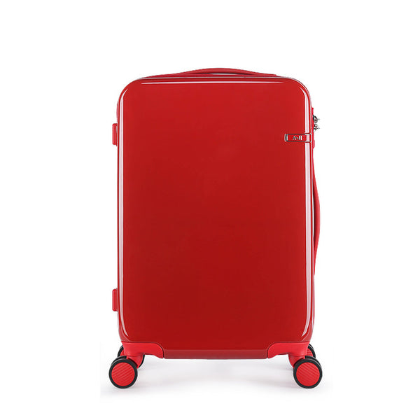 "- Women Red Suitcase Rolling Luggage Trolley Case Hardside PC TSA Lock Aluminum Telescoping Handle Carry-Ons 20"" 24"" Wedding - guiro - Zeinab Fashion"