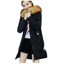 Load image into Gallery viewer, ,Fall Winter Warm Cotton Hooded Winter Jackets Long Sleeves Coat Winter Jacket Down Parka Women & Girls,guiro,Zeinab Fashion.