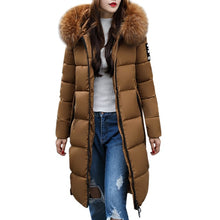 Load image into Gallery viewer, ,Women's Parkas Women Solid Casual Thickened Winter Slim Down Jacket Coat Overcoat Down Parka For Girls,guiro,Zeinab Fashion.