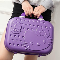- Hello Kitty The latest style A variety of colors can be selected Children's luggage Adult portable Suitcases - guiro - Zeinab Fashion