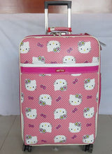 Load image into Gallery viewer, ,NEW 20 inch Hello kitty Spinner travel Luggage suitcase sets kids student women trolleys rolling luggage EMS/DHL free shipping,guiro,Zeinab Fashion.