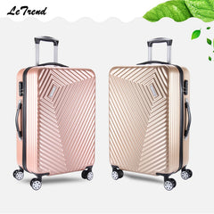 - Letrend New Rolling Luggage Spinner Men Trolley Travel Bag Password Box 20 inch Boarding Bag 24inch Trunk Women Suitcase Student - guiro - Zeinab Fashion