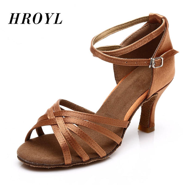 - Hot Selling Women's Tango/Ballroom/Latin Dance Dancing Shoes Heeled Salsa Professional Dancing Shoes For  Girls Ladies 5cm/7cm - guiro - Zeinab Fashion