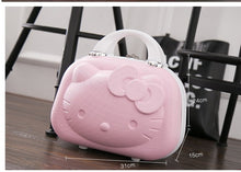 Load image into Gallery viewer,  - 2017 latest model 3DHello Kitty The latest style A variety of colors can be selected Children's luggage Adult portable Suitcases - guiro - Zeinab Fashion