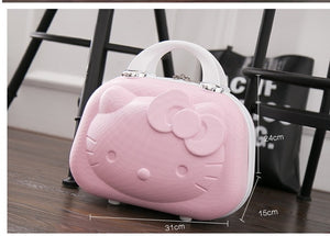 - 2017 latest model 3DHello Kitty The latest style A variety of colors can be selected Children's luggage Adult portable Suitcases - guiro - Zeinab Fashion