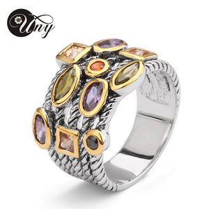 ,Ring Beautiful Multi CZ Twisted Cable Wire Rings Designer Fashion Brand David Vintage Love Antique Rings Womens Jewelry Ring,guiro,Shop Worldly.